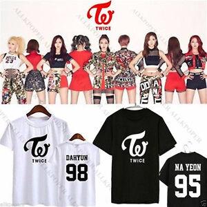 Kpop TWICE T-Shirt OHH AHH Tshirt MOMO Sana TEE Tops TWICEcoaster