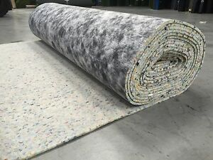 10mm Quality Carpet Underlay Rolls Brand New Thick Luxury Pu Foam Flooring Cheap Ebay