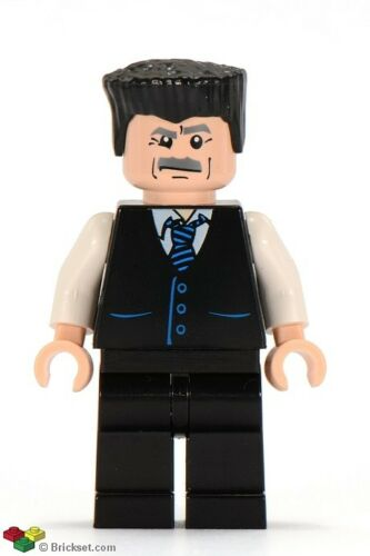GENIUNE LEGO Marvel Superheroes J JONAH JAMESON Minifigure from 4855 Set SPD017