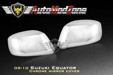 09-12 Suzuki Equator Chrome Side View Mirror Cover Covers Set