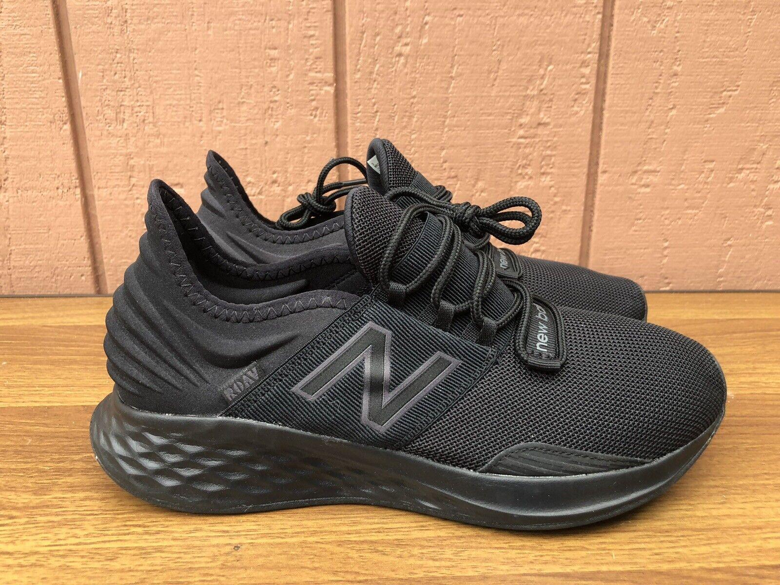 NEW RARE New Balance Roav V1 MROAVLB Running Men US 8.5 D Black Running Shoes CY