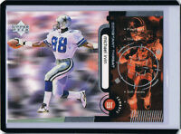 Rare! 1998 Upper Deck Constant Threat SILVER - /1000 ERROR Michael Irvin Cowboys