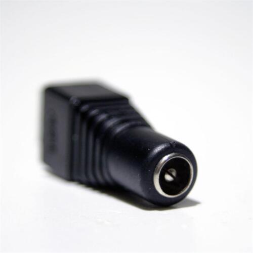 10 Adattatore di Lampadario morsetto su 5,5//2,1mm DC-Jack-Connettore per LED STRIPES