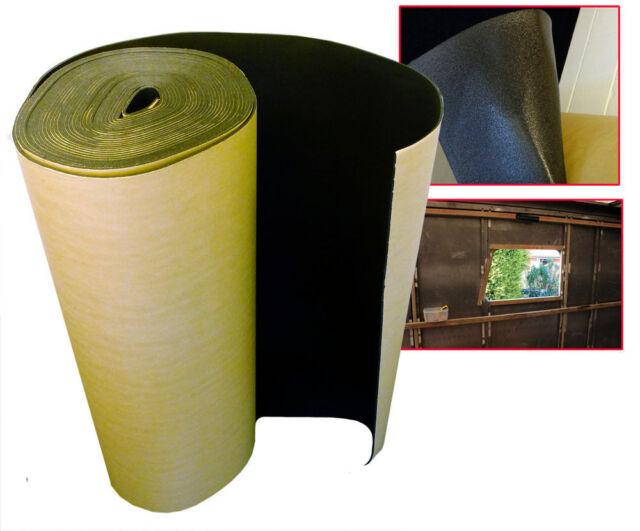 10 x 1 m Self Adhesive Thermal Bubble Foil Insulation Home Caravan Van