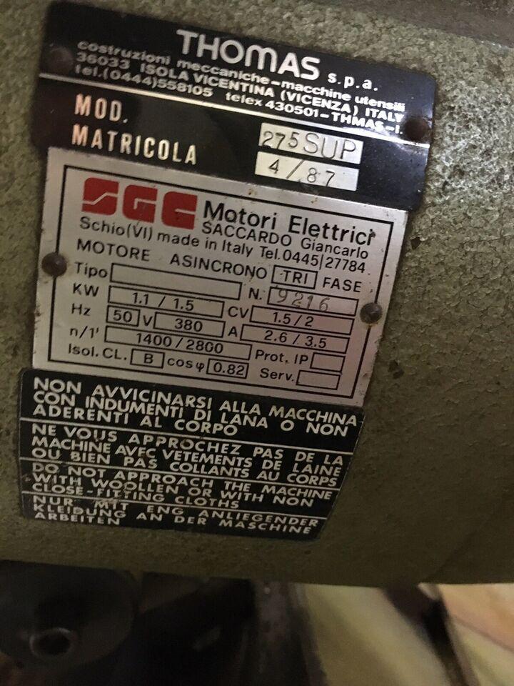 Metal afkortersav, Thomas Model 275
