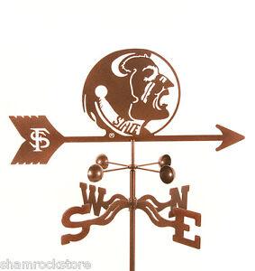 Florida-State-University-Weathervane-Seminoles-Go-Noles-w-Choice-of-Mount