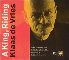 Klaas de Vries: A King, Riding Super Audio Hybrid CD (CD, May-2004, 2 Discs, Com