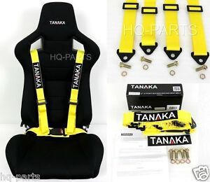 1 Tanaka Universal Yellow 4 Point Buckle Racing Seat Belt Harness Ebay. Is Loading 1tanakauniversalyellow4pointbuckleracing. Seat. Seat Belt Harness Zipper At Scoala.co