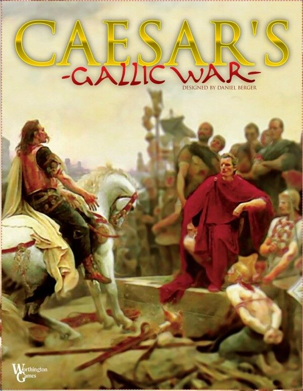 MINT, Caesar's Gallic War, by Worthington Games; Sealed in Shrinkwrap