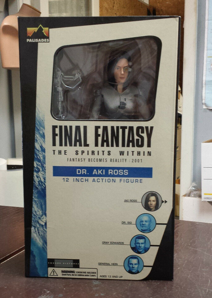 Dr Aki Ross Final Fantasy 12  Action Figure (M2187)