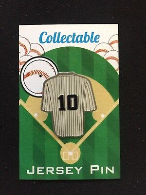 New York Yankees Phil Rizzuto Revers Pin-classic Collectable-holy Kuh Baseball & Softball