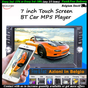 2-DIN-6-6-039-039-Autoradio-Stereo-Bluetooth-Touch-MP5-Player-USB-Remoto-Head-Unit
