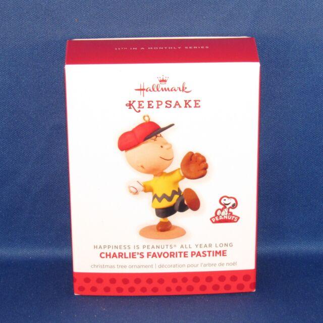 Hallmark Charlie's Favorite Pastime Peanuts All Year Long #11 Keepsake Ornament