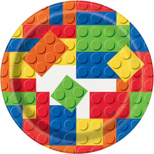 BUILDING BLOCKS Birthday Party Range \u0026#40;Lego\u0026#41; Tableware \u0026&;  sc 1 st  eBay & BUILDING BLOCKS Birthday Party Range (Lego) Tableware ...