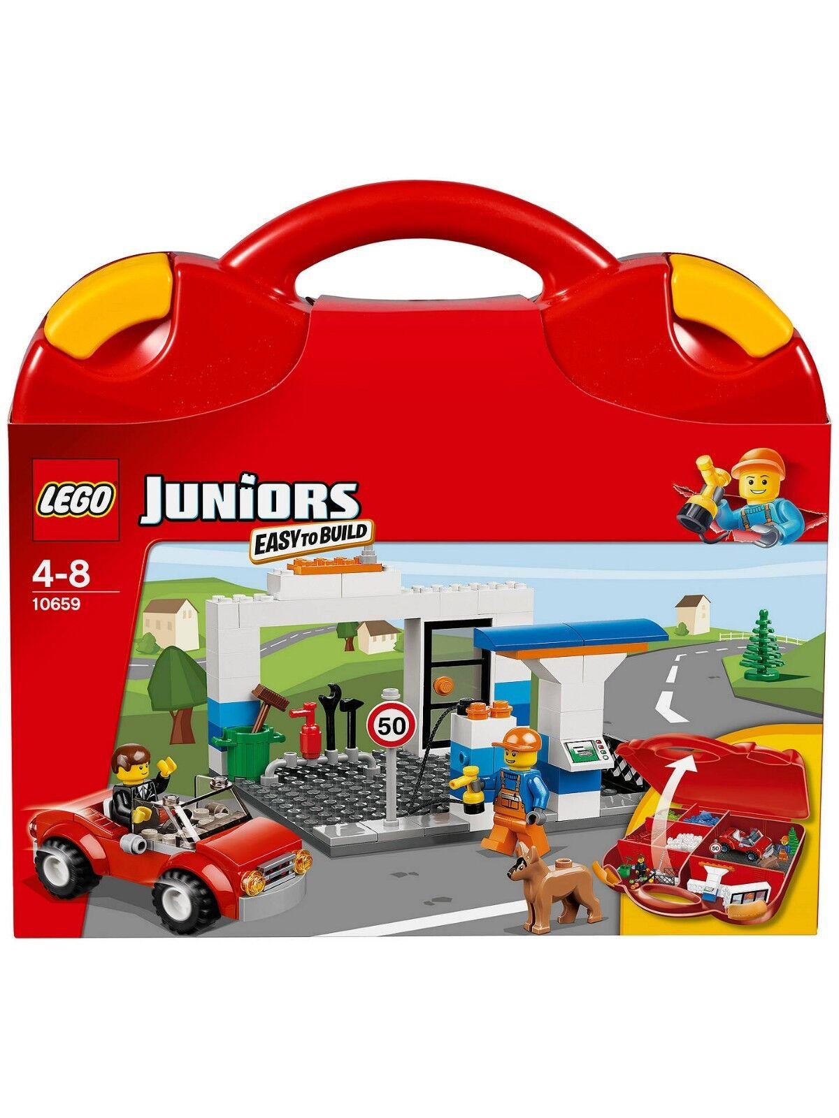 nuovo stile Nuovo Lego Juniors Juniors Juniors Vehicle Suitcase (10659)  negozio di sconto