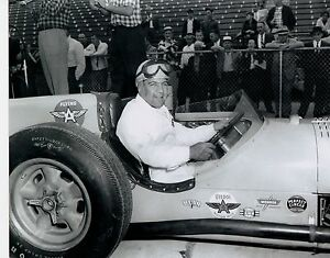 Paul Russo 1957 Indy 500 Novi 8 X 10 Photo Ebay