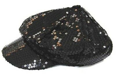 PINK SEQUIN BASEBALL CAP #079 flashy novelty sparkle hat hats game sports new