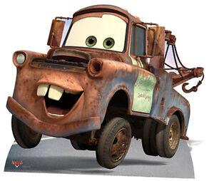 mater from disney pixar cars lifesize cardboard cutout standee