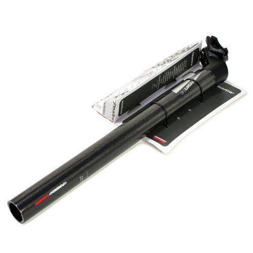 TRUVATIV negro T40 carbono tija 25mm Offset, 31.6 X 400mm