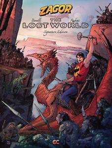 Zagor-The-Lost-World-2018-Hardcover-Rubini-cover-GN-Boselli-Rubini
