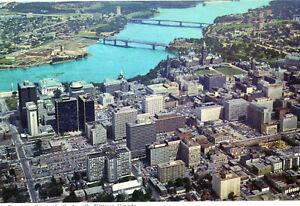 Carte-CANADA-Le-Centre-Ville-d-039-OTTAWA-Downtown