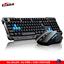miniature 1 - 2-4G-Gaming-sans-Fil-Clavier-Souris-Set-pour-Ordinateur-PC-Multimedia-Gamer