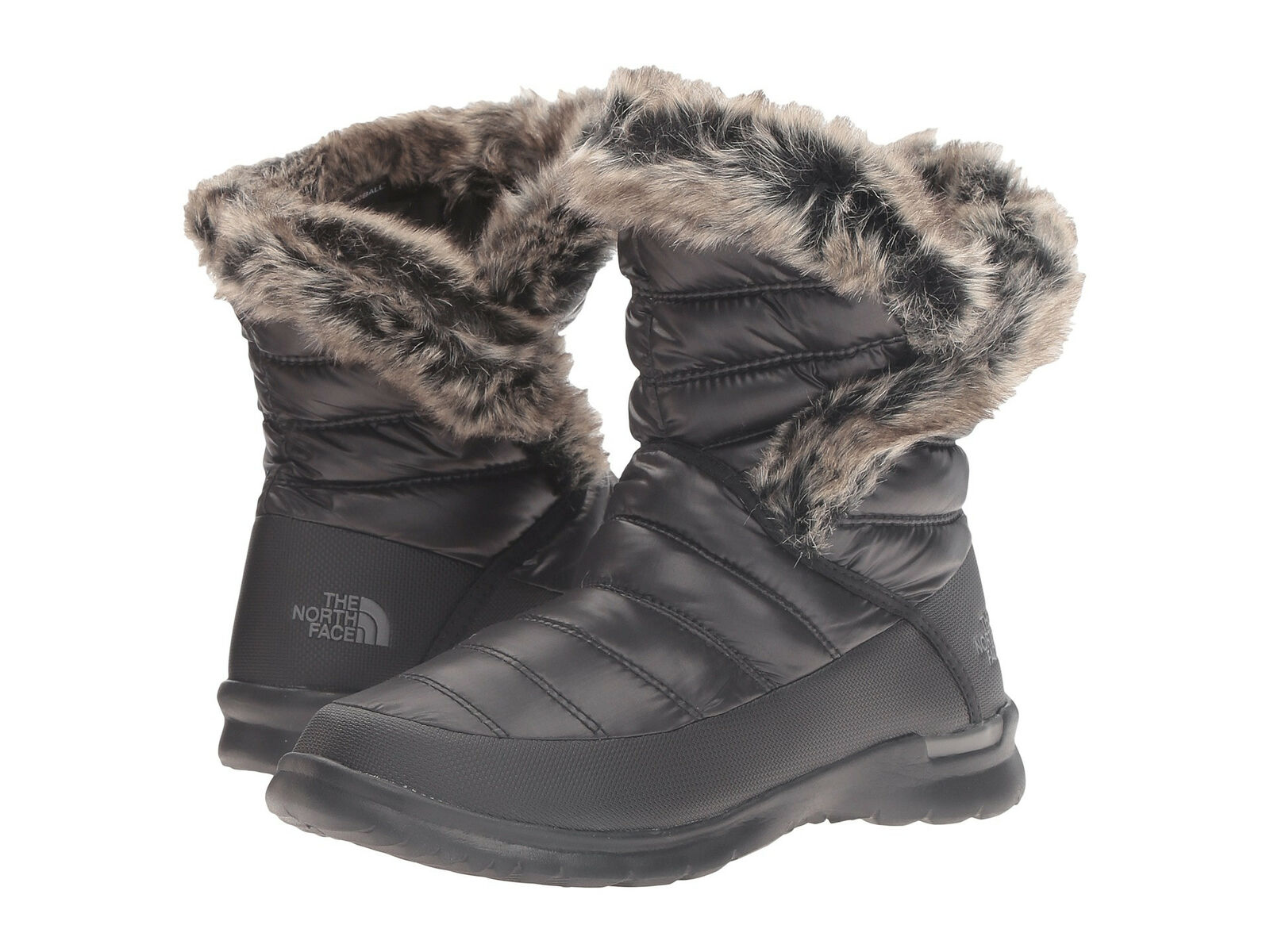 THE NORTH Thermoball Microbaffle Bootie II Women Shiny TNF