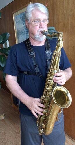 Walker /& Williams SA-42 Premium Leather Padded Saxophone Harness Tenor or Alto