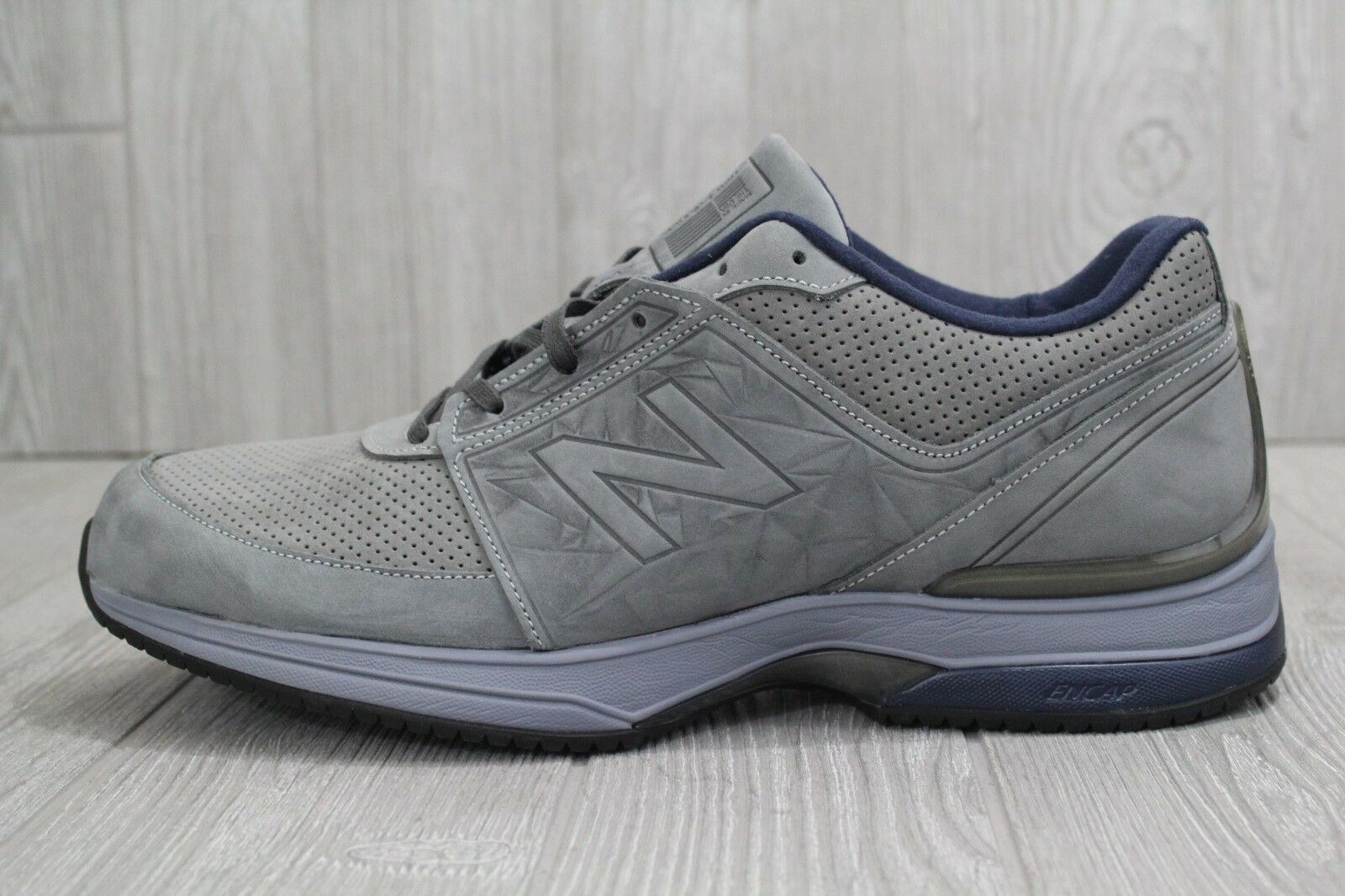 30 Men's New Balance Running Sneaker Size 14 2E Grey Suede Luxury shoes M2040GL3