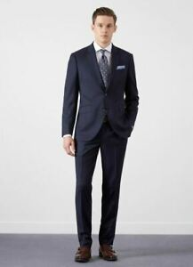 Mens Mens 2pc Hackett Navy Navy Suit gpfndfqx