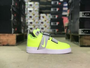 Nike-Air-Force-1-Utility-Mens-Low-Top-Shoe-Green-White-AO1531-700-NEW-All-Sizes