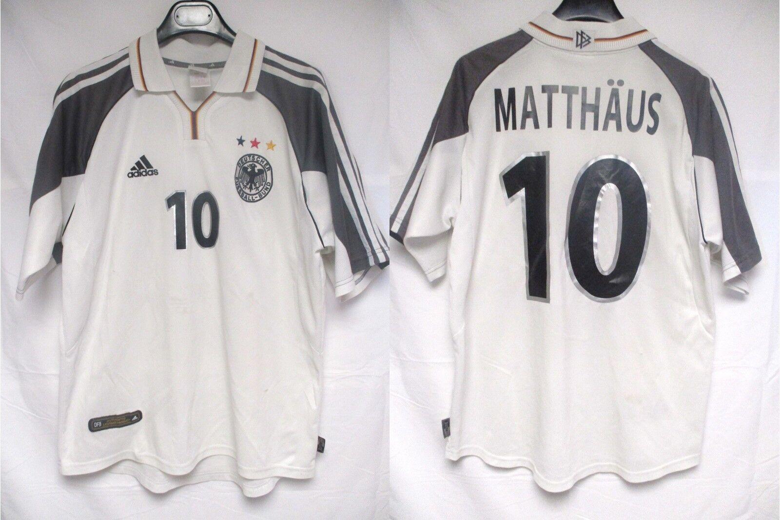 Maillot ALLEMAGNE GERMANY DEUTSCHLAND 2000 MATTHAÜS shirt vintage trikot maglia
