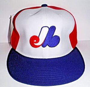 3790d661b61c3 Montreal Expos New Era Hat Pro Model Fitted 6 3 4 Vintage Diamond ...