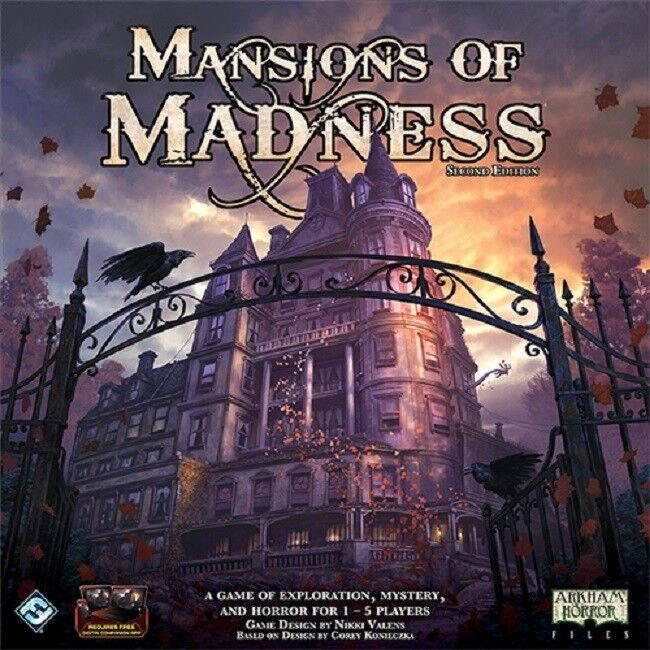 Fantasy Flight Games: Mansions of Madness  Second Edition   Nuovo