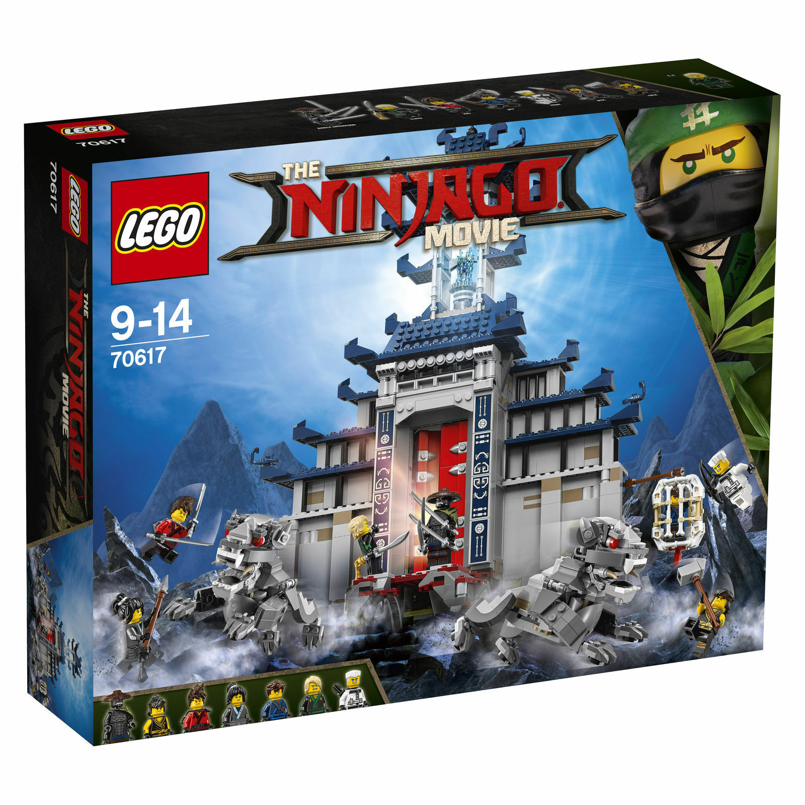 LEGO NINJAGO Ultimativ Ultimativ Ultimativ Tempel-Versteck (70617) Temple of the Ultimate Weapon 5b2622