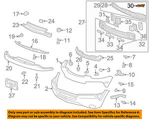 Chevrolet GM OEM 17-18 Trax Front Bumper Grille-Side Bracket Right 42566653