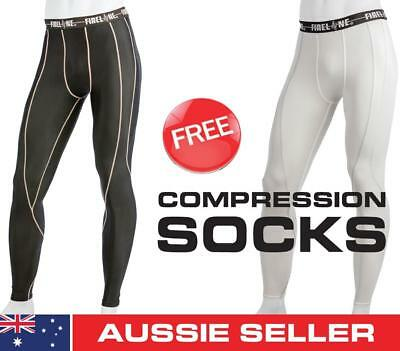 Collingwood Socks Magpies Compression Tights Football Shorts Mens Youth Skins