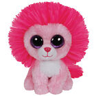 Ty Beanie Boo Plush - Fluffy The Valentines Lion 15cm