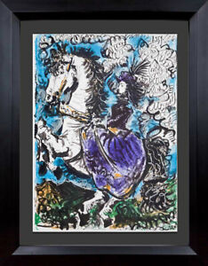 Pablo-PICASSO-Lithograph-LIMITED-Edition-Cat-Ref-C112-w-Gallery-FRAME