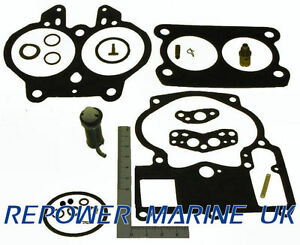 Carburateur Rebuild Kit Pour Rochester 2bbl V8 Moteurs Mercruiser