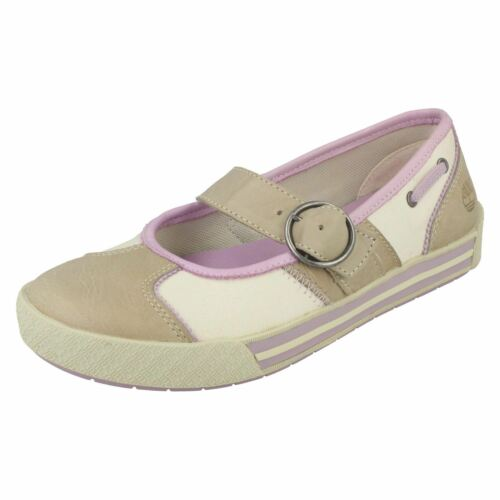 Beige lila Timberland Girls Pumps Leather beige 52952 Casual XZq8xB