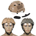 Airsoft Tactical Military Fast Helmet Paintball With Protective Goggle Outdoor