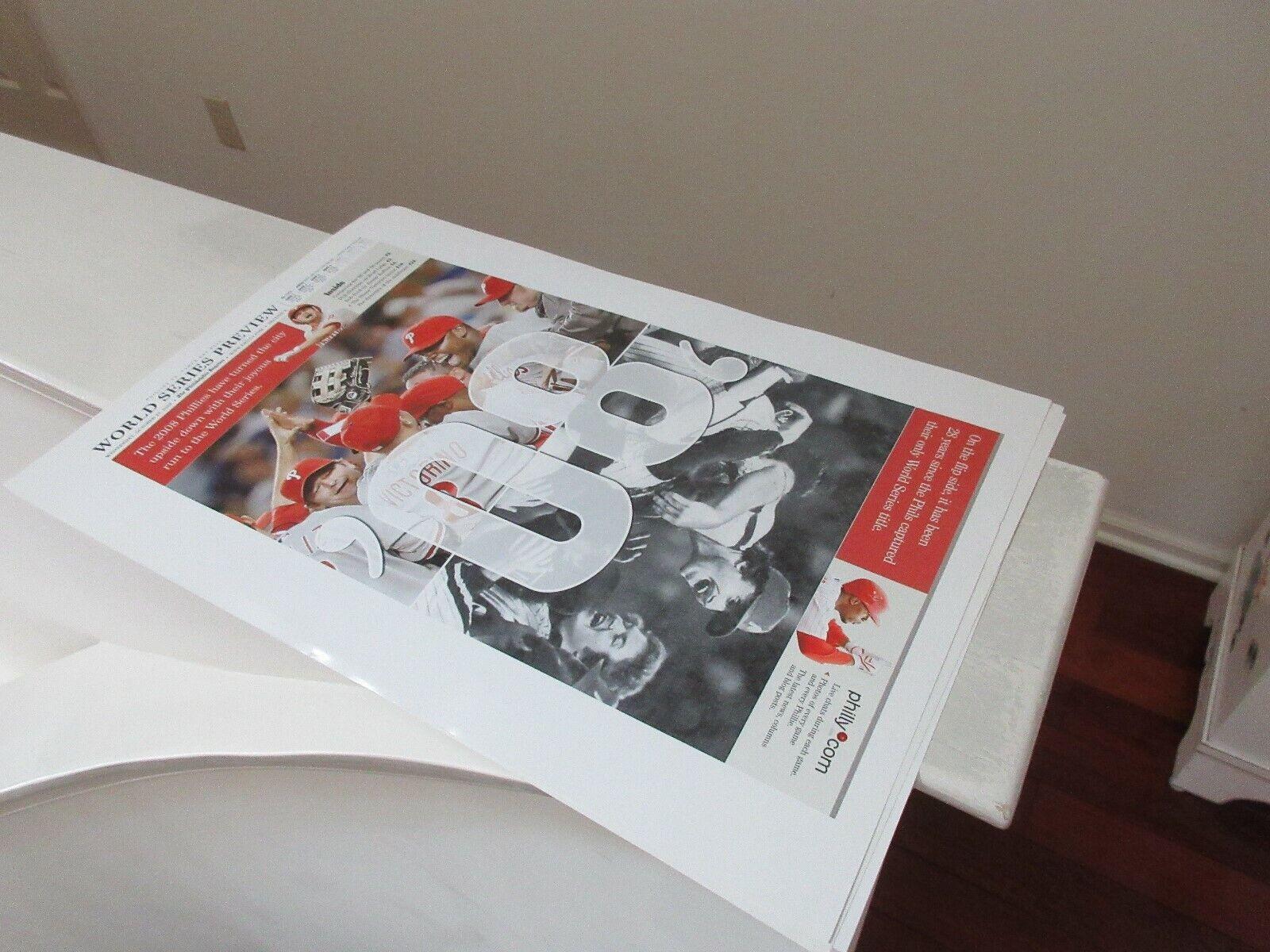 Philadelphia Phillies , Baseball Posters, Lot 3, 2008 W