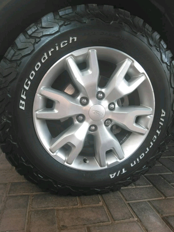 FORD RANGER MAG/TYRE 18 INCH