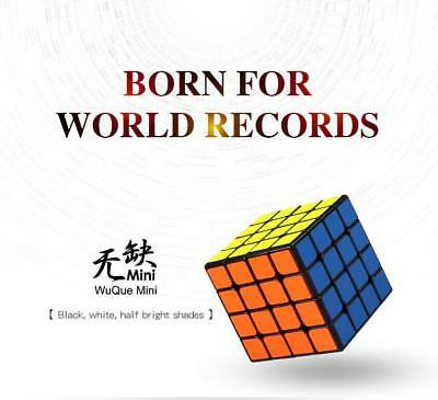 world record cube! Qiyi Mo Fang Ge 4x4x4 Wuque Speedcube puzzle