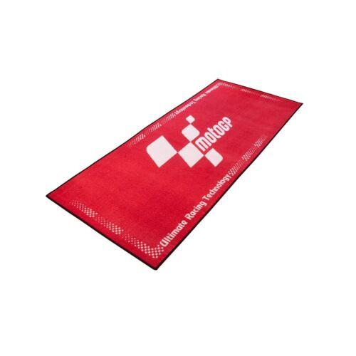 Rubber Backed Non-Slip Oil//Water 190*80cm Red MOTOGP Workshop Mat