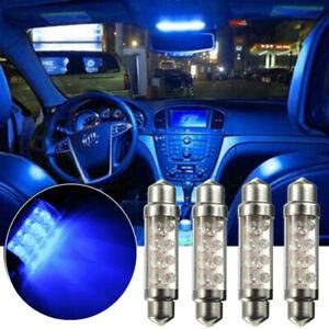 4x-42mm-soffitte-sofitte-8-LED-iluminacion-interior-u-iluminacion-de-la-matricula