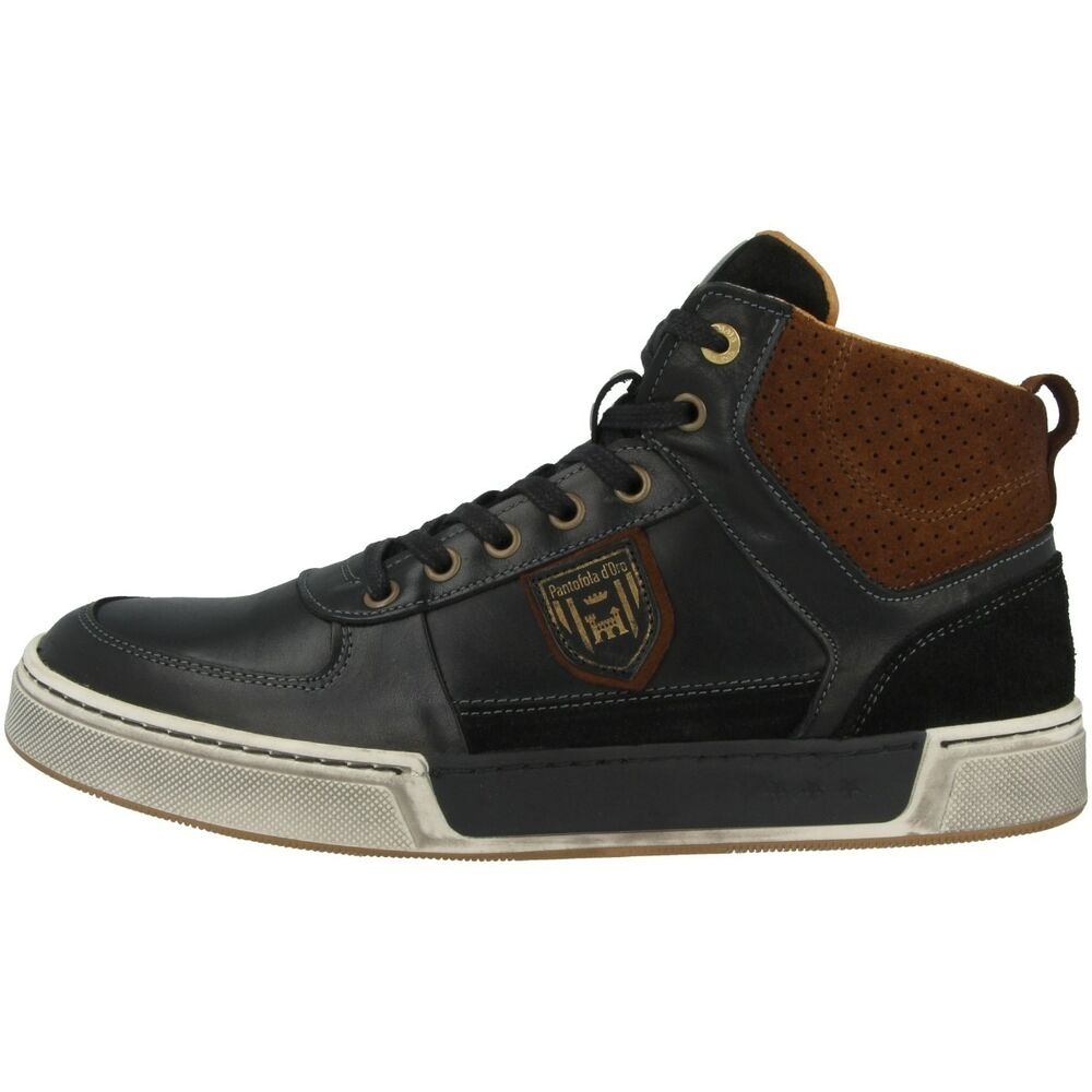 Pantofola D Oro Frederico Uomo Mid Baskets Excellents Noir 10183023.2