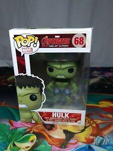 Marvel-Avengers-Hulk-68-Pop-Vinyl-Bobble-Head-Figure-Funko-Aus-Seller
