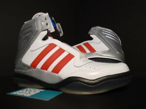 picked up promo code fashion Details about 2012 ADIDAS TECH STREET MID WHITE RED BLACK SILVER GREY ULTRA  BOOST PK G65890 9